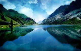 Бесплатные фото вода,река,трава,горы,скалы,озеро,деревья