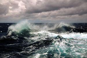 Фото бесплатно шторм, ветер, океан