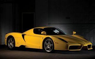 Фото бесплатно автомобиль, спортивный, желтый
