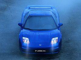 Фото бесплатно honda, nsx, синий