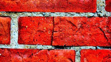 Обои кирпичи, стройка, камень, раствор, цемент, кладка, разное