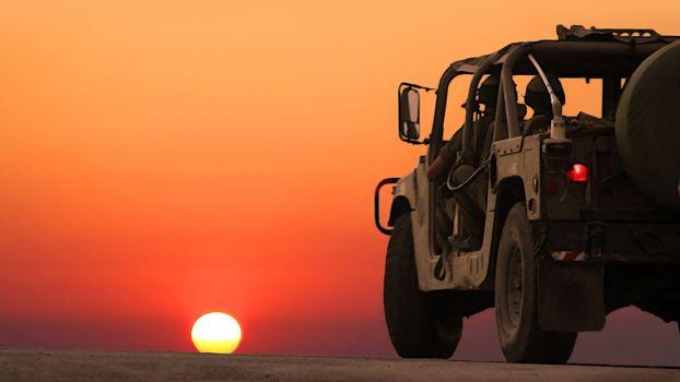Фото бесплатно машина на закате, закат, скорость