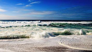 Бесплатные фото море, океан, волны, вода, брызги, горизонт, небо