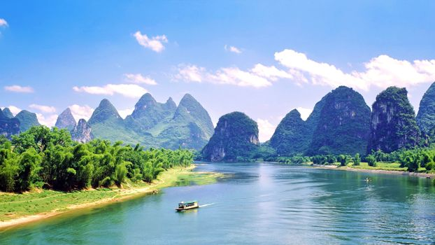 Photo free landscape, tropics, china
