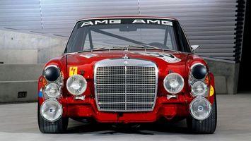 Бесплатные фото ретро, гоночный, автомобиль, мерседес, фары, решетка, машины