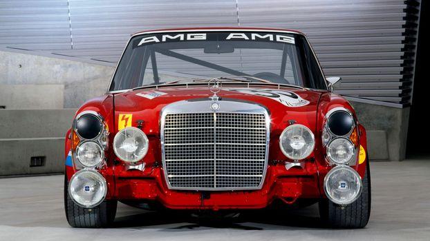 Photo free retro, racing, car