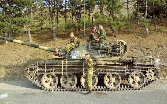 Фото бесплатно танк, гусеница, цепь