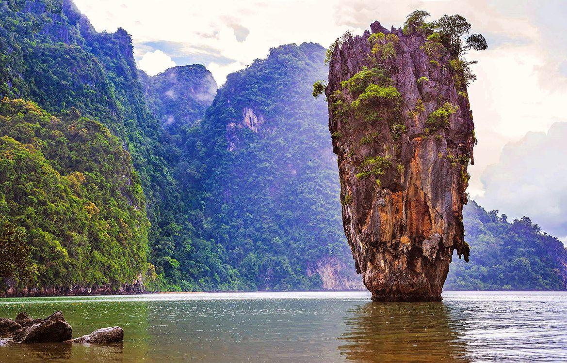 Фото бесплатно тропики, море, скала, природа, природа