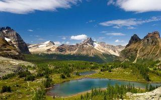 Бесплатные фото вода,река,озеро,горы,снег,небо,берег