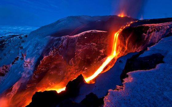 Photo free volcano, lava, magma