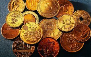Бесплатные фото монеты,золотые,старые,блестят,разное