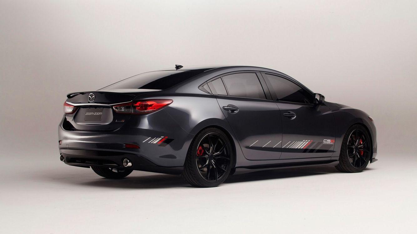 Фото бесплатно mazda, mazda 6 club sport, черный, стильный, японский, колеса, машины, машины