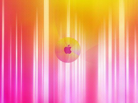 Бесплатные фото apple,разноцветный,фон,точки,яблоко,линии,hi-tech