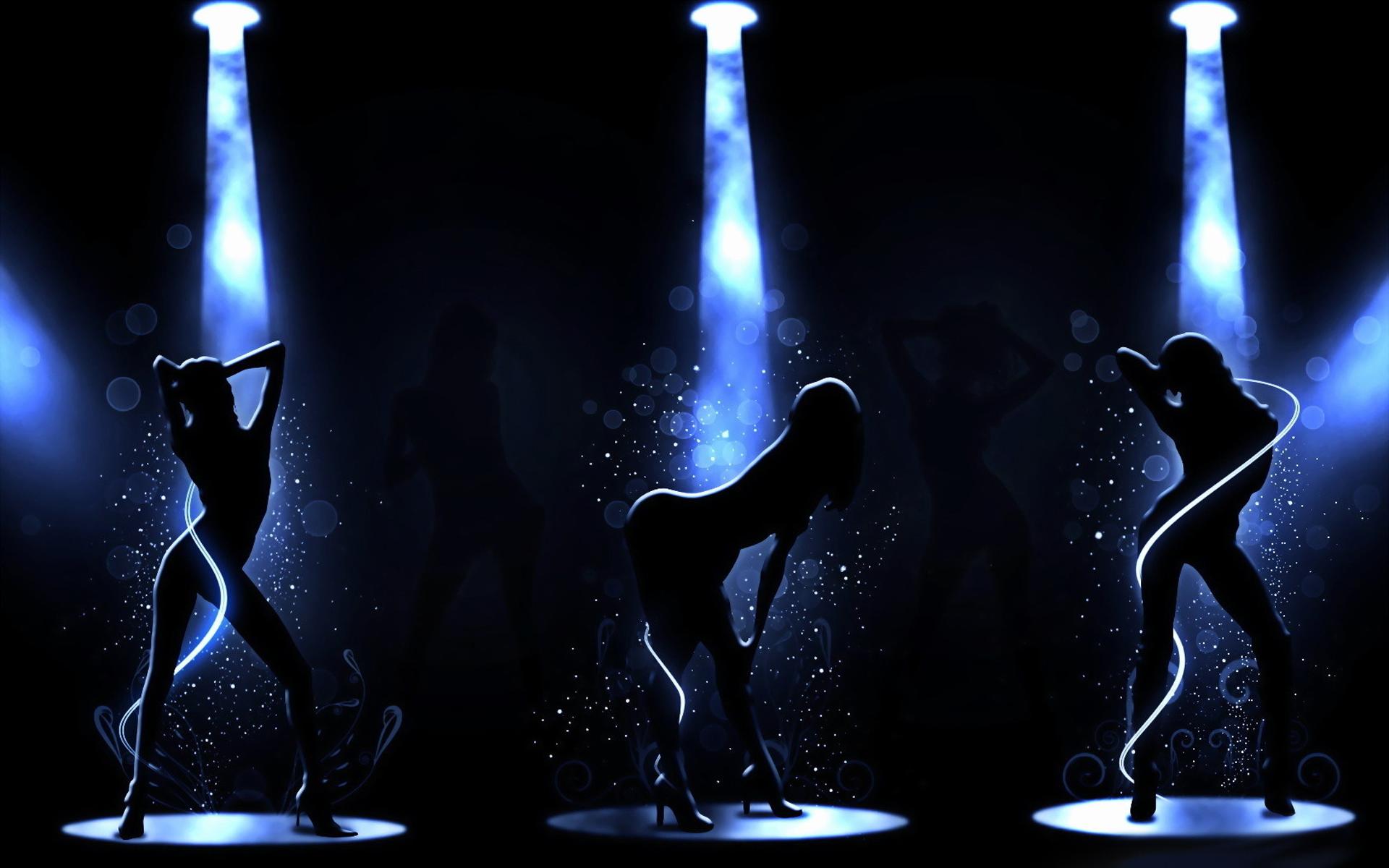девушки, танец, го-го