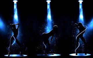 Заставки девушки, танец, го-го