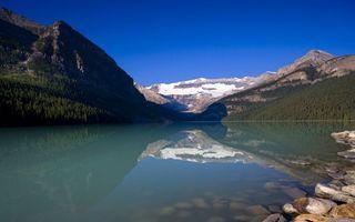 Бесплатные фото горы,камни,река,вода,лес,деревья,галька