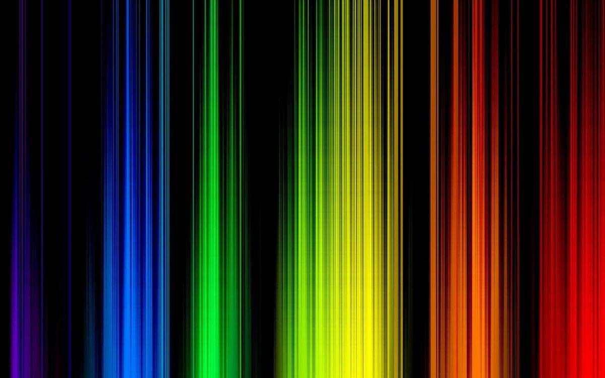 Фото бесплатно линии, градиент, цвета, зеленый, красный, синий, фон, черный, абстракции, абстракции
