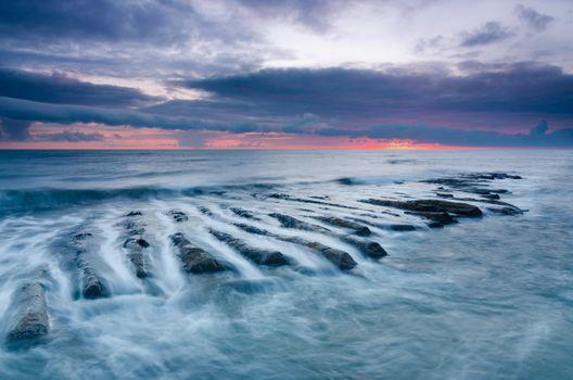 Фото бесплатно морской пейзаж, Северное море, Нортумберленд
