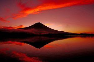 Фото бесплатно пейзаж, море, гора