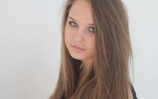 Фото бесплатно русая, глаза, голубые