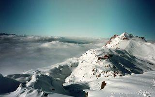 Фото бесплатно снег, горы, камни