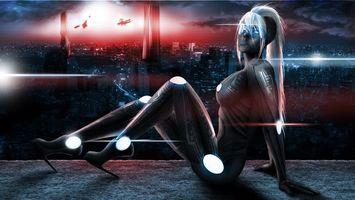 Фото бесплатно тело, город, девушка