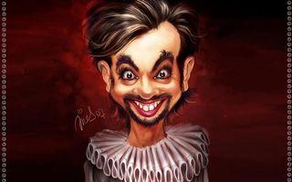 Бесплатные фото человек,волосы,шарж,карикатура,брови,глаза,зубы