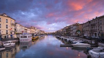 Бесплатные фото канал,вода,здания,дома,катера,яхты,гандолы