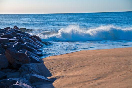 Фото бесплатно море, волны, брызги