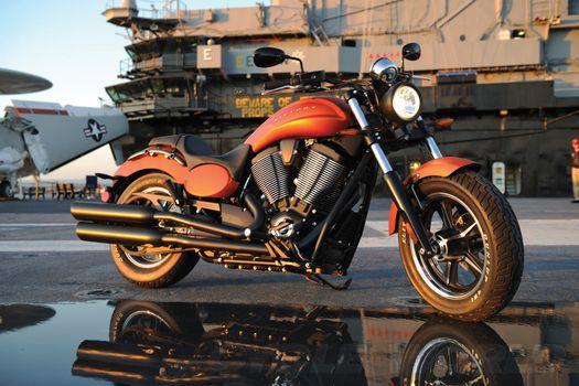 Photo free motorcycle, race, wheel