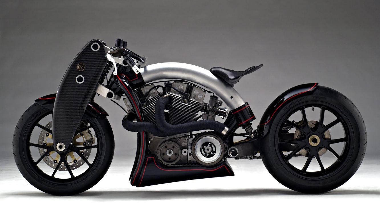 Фото бесплатно мотоцикл, тюнинг, колесо, сиденье, руль, шестеренки, цепь, механизм, труба, щиток, спорт, мотоциклы