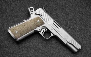 Заставки пистолет, ствол, пушка, рукоять, курок, сталь, оружие