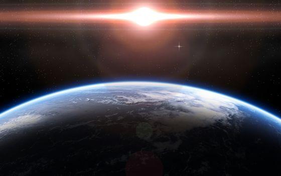 Фото бесплатно планета, земля, снимок