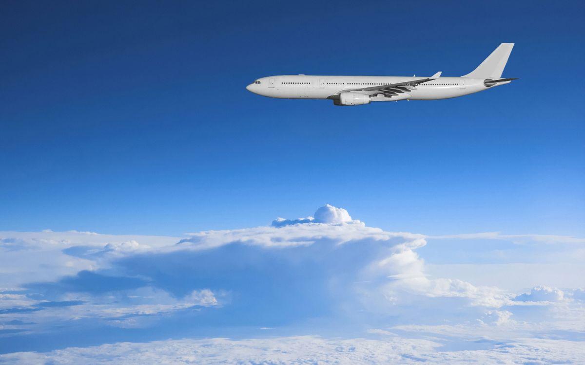 Фото бесплатно авиация, небо, самолет - на рабочий стол