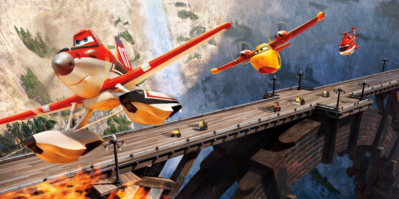 Обои Самолеты: Огонь и вода, приключения, мультфильм картинки на телефон