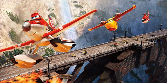 Фото бесплатно Самолеты: Огонь и вода, приключения, мультфильм