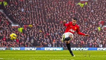 Photo free van persie, footballer, kick