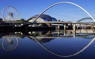 Бесплатные фото вода,река,мост,отражение,карусель,небо,город