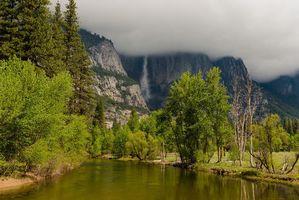 Бесплатные фото yosemite national park,горы,река,пейзаж,природа