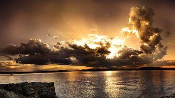Заставки краєвид, небо, хмари