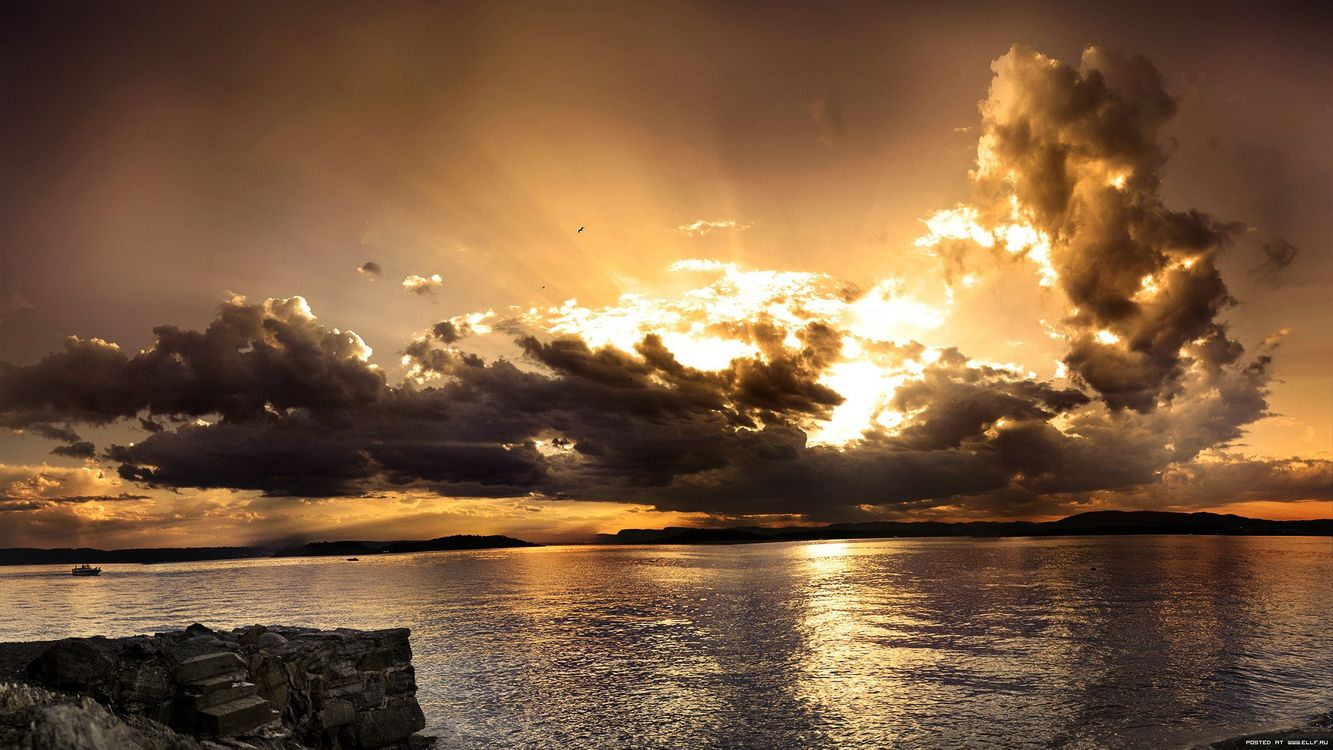 Фото бесплатно краєвид, небо, хмари - на рабочий стол