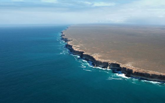 Photo free ocean, nullarbor, south australia