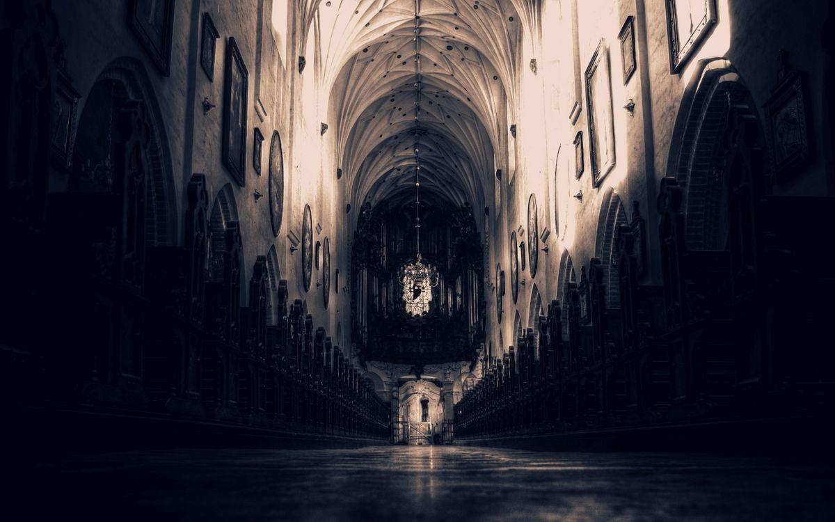 Фото бесплатно арка готика собор - на рабочий стол