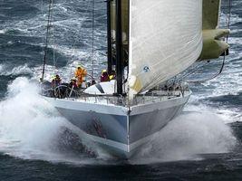 Фото бесплатно парусник, яхта, штурвал