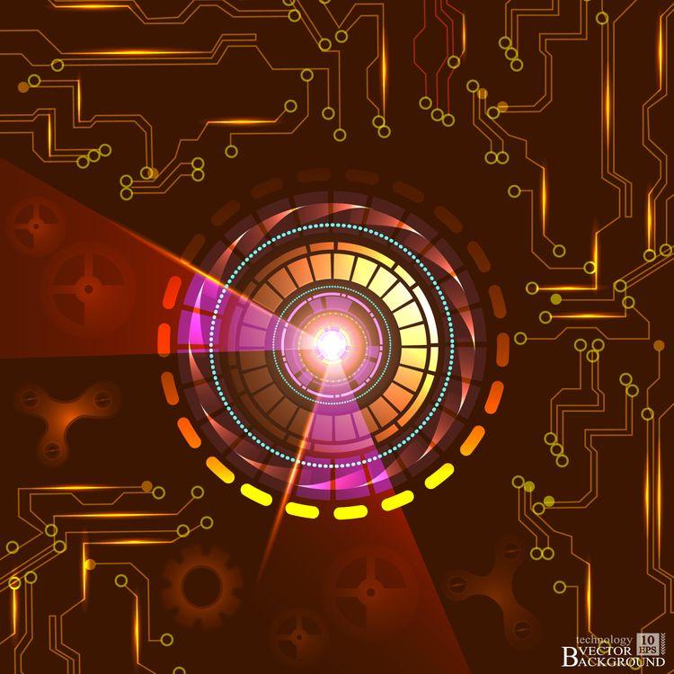 Реактор и микросхема · бесплатное фото
