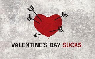 Заставки день валентина, сердце, стрелы, красный, серый, капля, праздники