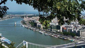 Бесплатные фото дома,река,вода,мосты,дороги,деревья,город