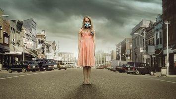 Фото бесплатно дома, улица, машины