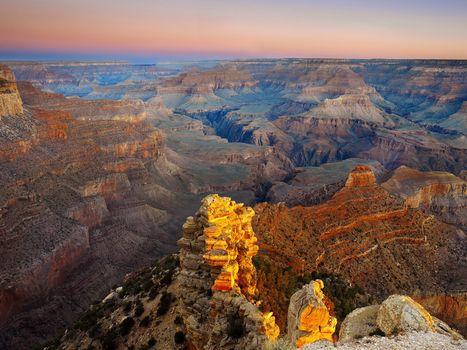 Фото бесплатно горы, разлом, камни