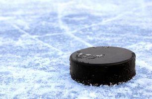 Фото бесплатно хоккей, шайба, черная